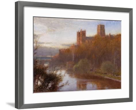 Durham Cathedral, 1910-Albert Goodwin-Framed Art Print