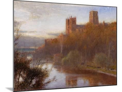 Durham Cathedral, 1910-Albert Goodwin-Mounted Giclee Print