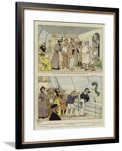 Why Jones Believes in the Sea Serpent, a Comedy in Two Acts-Albert Guillaume-Framed Art Print