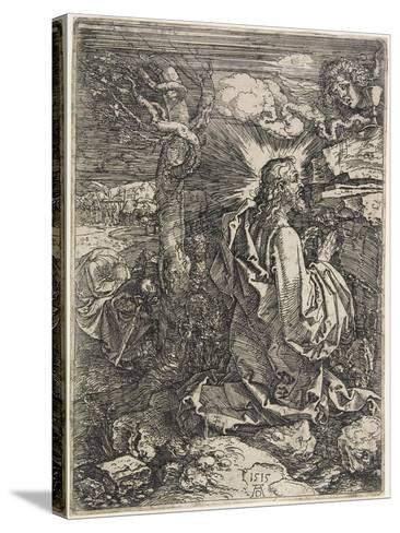 Christ on the Mount of Olives, 1515-Albrecht D?rer-Stretched Canvas Print