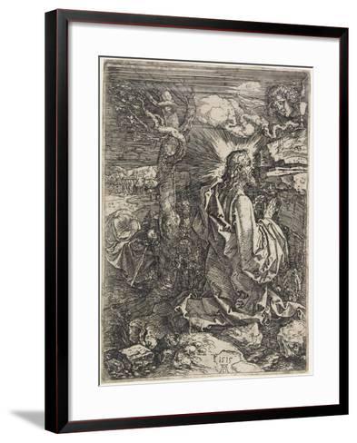 Christ on the Mount of Olives, 1515-Albrecht D?rer-Framed Art Print