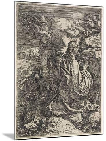 Christ on the Mount of Olives, 1515-Albrecht D?rer-Mounted Giclee Print