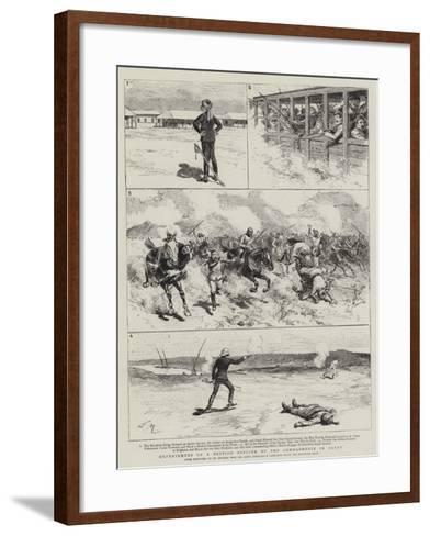 Experiences of a British Officer of the Gendarmerie in Egypt-Adrien Emmanuel Marie-Framed Art Print