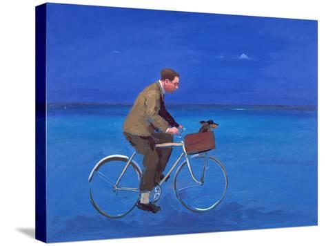 Cyclist, 2005-Alan Kingsbury-Stretched Canvas Print