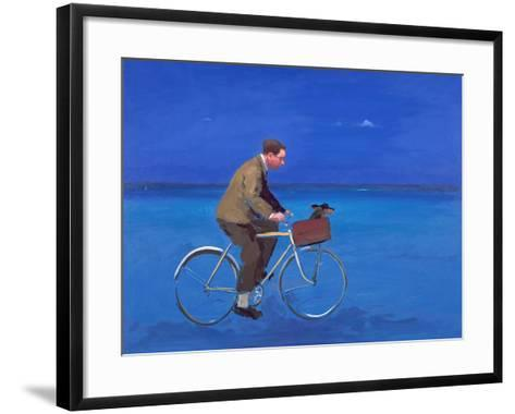 Cyclist, 2005-Alan Kingsbury-Framed Art Print
