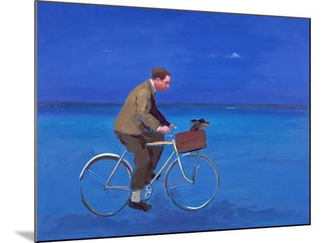 Cyclist, 2005-Alan Kingsbury-Mounted Giclee Print