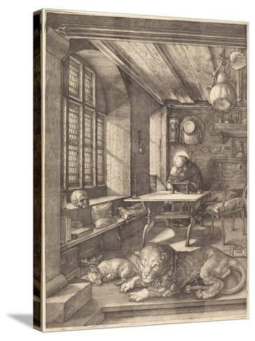 St. Jerome in His Study, 1514-Albrecht D?rer-Stretched Canvas Print