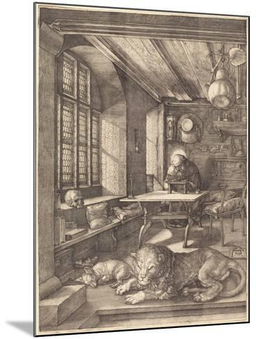 St. Jerome in His Study, 1514-Albrecht D?rer-Mounted Giclee Print