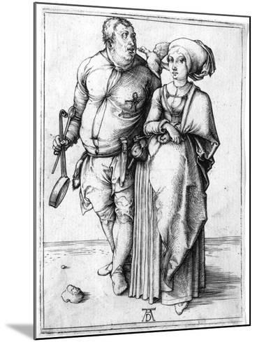 A Cook and His Wife, C.1496-Albrecht D?rer-Mounted Giclee Print