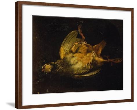 Still Life with Partridge-Alexandre-Francois Desportes-Framed Art Print