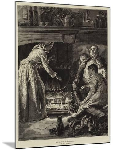 The Pleasures of Anticipation-Alfred Edward Emslie-Mounted Giclee Print