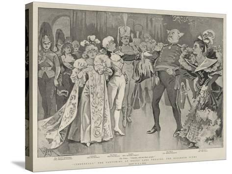 Cinderella, the Pantomime at Drury Lane Theatre, the Ballroom Scene-Alexander Stuart Boyd-Stretched Canvas Print