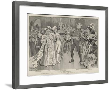 Cinderella, the Pantomime at Drury Lane Theatre, the Ballroom Scene-Alexander Stuart Boyd-Framed Art Print
