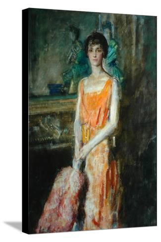 Mademoiselle De Pourtales, C.1925-Ambrose Mcevoy-Stretched Canvas Print