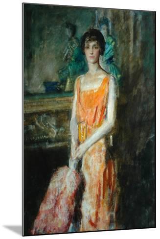 Mademoiselle De Pourtales, C.1925-Ambrose Mcevoy-Mounted Giclee Print