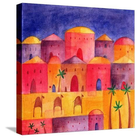 Bethlehem by Starlight, 2001-Alex Smith-Burnett-Stretched Canvas Print