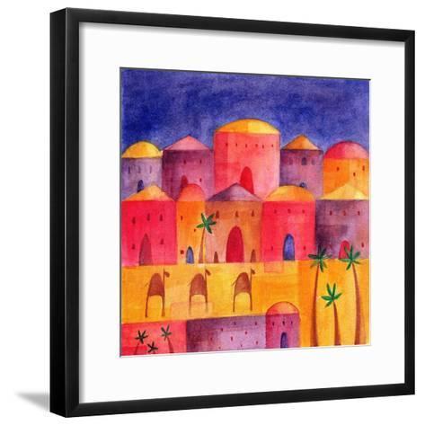 Bethlehem by Starlight, 2001-Alex Smith-Burnett-Framed Art Print