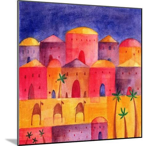 Bethlehem by Starlight, 2001-Alex Smith-Burnett-Mounted Giclee Print