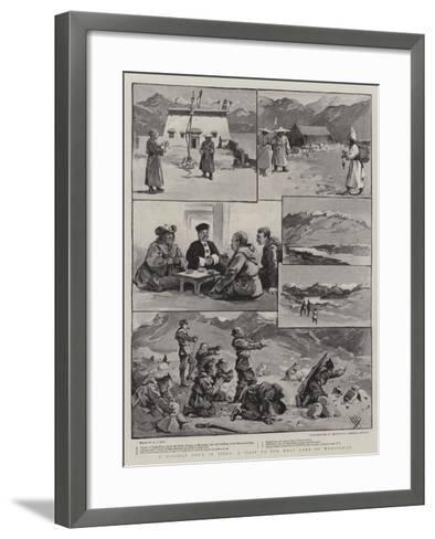 A Holiday Tour in Tibet, a Visit to the Holy Lake of Mansalwar-Alexander Stuart Boyd-Framed Art Print