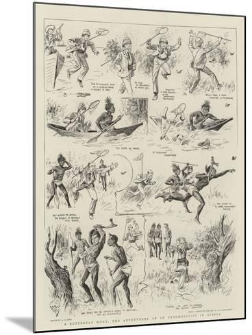 A Butterfly Hunt, the Adventures of an Entomologist in Africa-Alexander Stuart Boyd-Mounted Giclee Print