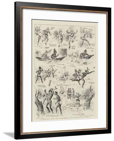 A Butterfly Hunt, the Adventures of an Entomologist in Africa-Alexander Stuart Boyd-Framed Art Print