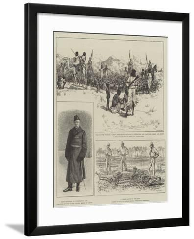 The War in the Soudan-Alfred Courbould-Framed Art Print