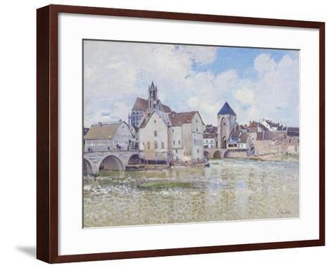 Le Pont De Moret, 1888-Alfred Sisley-Framed Art Print