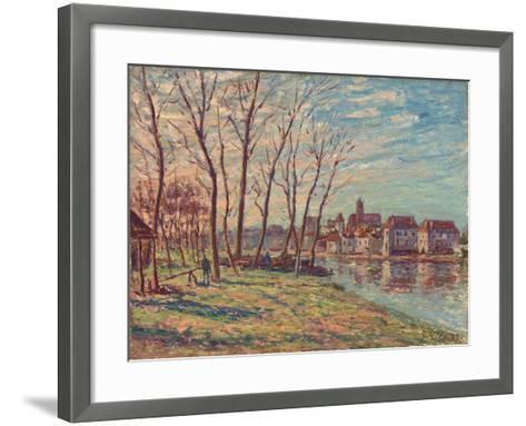 View of Moret, 1889-Alfred Sisley-Framed Art Print