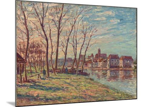 View of Moret, 1889-Alfred Sisley-Mounted Giclee Print