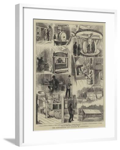 The Manufacture and Storage of Gunpowder-Alfred Chantrey Corbould-Framed Art Print