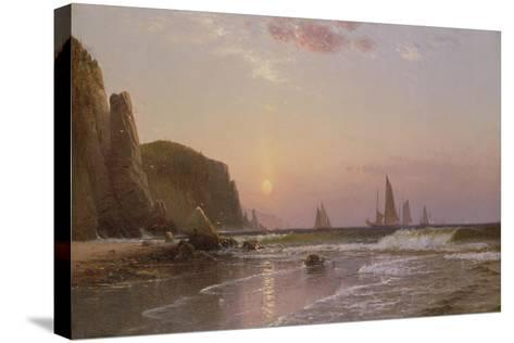 Morning at Grand Manan, 1878-Alfred Thompson Bricher-Stretched Canvas Print