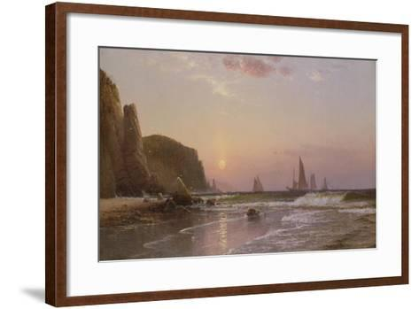 Morning at Grand Manan, 1878-Alfred Thompson Bricher-Framed Art Print