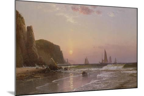Morning at Grand Manan, 1878-Alfred Thompson Bricher-Mounted Giclee Print