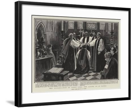 The Consecration of Canon Gore, the Laying on of Hands-Alexander Stuart Boyd-Framed Art Print