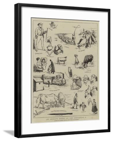 An Artist's Notes on the Continent, V-Alfred Chantrey Corbould-Framed Art Print