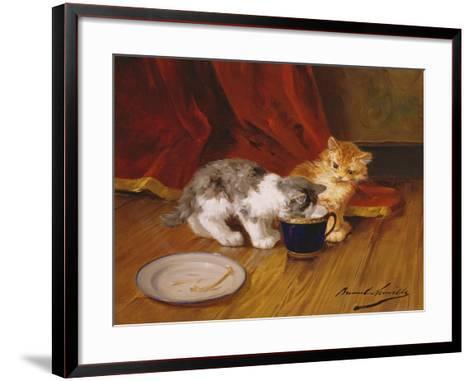 Tea-Time-Alphonse Marie de Neuville-Framed Art Print