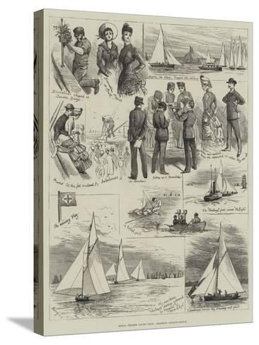 Royal Thames Yacht Club, Amateur Sailing Match-Alfred Courbould-Stretched Canvas Print