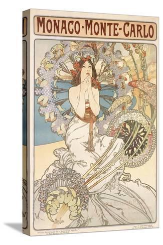 Monaco, Monte Carlo, 1897-Alphonse Mucha-Stretched Canvas Print