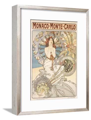 Monaco, Monte Carlo, 1897-Alphonse Mucha-Framed Art Print