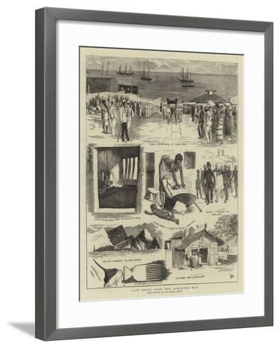 Last Notes from the Ashantee War-Alfred Chantrey Corbould-Framed Art Print