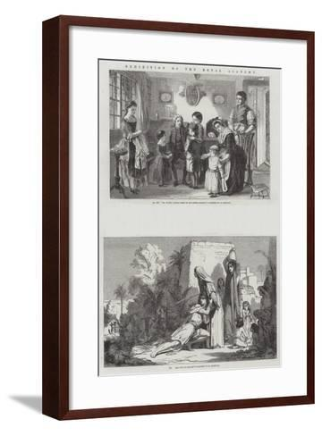 Exhibition of the Royal Academy-Alfred Rankley-Framed Art Print