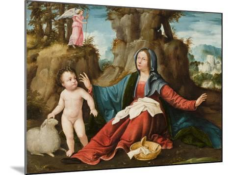 The Vision of the Virgin Mary, C.1518-20-Altobello Melone-Mounted Giclee Print