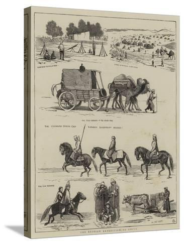 The Russian Expedition to Khiva-Alfred Chantrey Corbould-Stretched Canvas Print