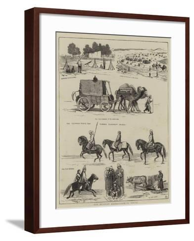 The Russian Expedition to Khiva-Alfred Chantrey Corbould-Framed Art Print