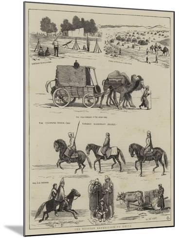 The Russian Expedition to Khiva-Alfred Chantrey Corbould-Mounted Giclee Print