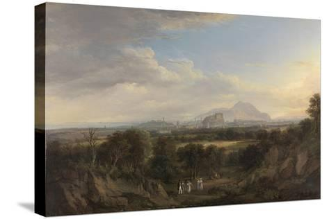 A View of Edinburgh from the West, C.1822-26-Alexander Nasmyth-Stretched Canvas Print