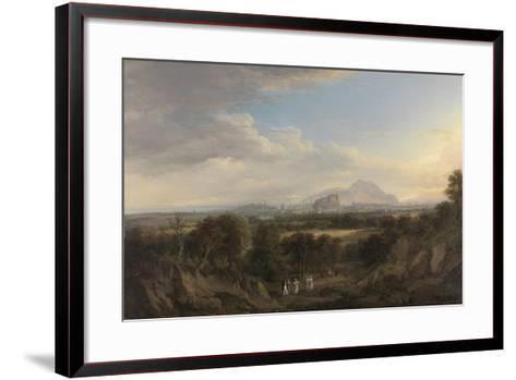A View of Edinburgh from the West, C.1822-26-Alexander Nasmyth-Framed Art Print
