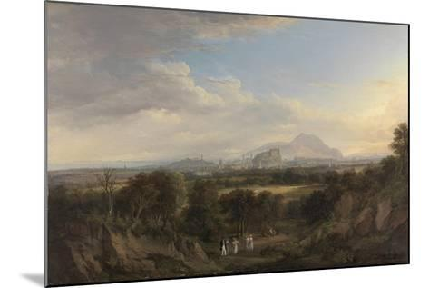 A View of Edinburgh from the West, C.1822-26-Alexander Nasmyth-Mounted Giclee Print