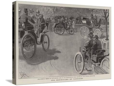 Two Exhibitions of Carriages-Alexander Stuart Boyd-Stretched Canvas Print