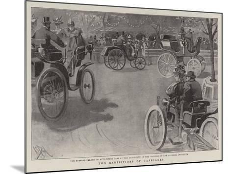 Two Exhibitions of Carriages-Alexander Stuart Boyd-Mounted Giclee Print